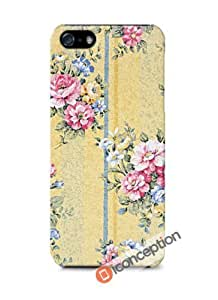 Vintage Floral Yellow - iPhone 5/5s Cover