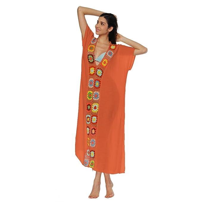 cd387ca1021b beautyjourney Copricostume mare donna lungo estate pizzo abito donna lungo  elegante vestiti lunghi spiaggia vestito donna