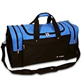 Everest Luggage Sports Travel Gear Bag, Royal Blue / Black Medium