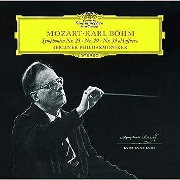 モーツァルト:交響曲第25番・第29番・第35番
