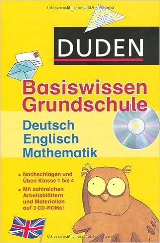 Duden Basiswissen Grundschule. Kassette Deutsch, Mathematik ...