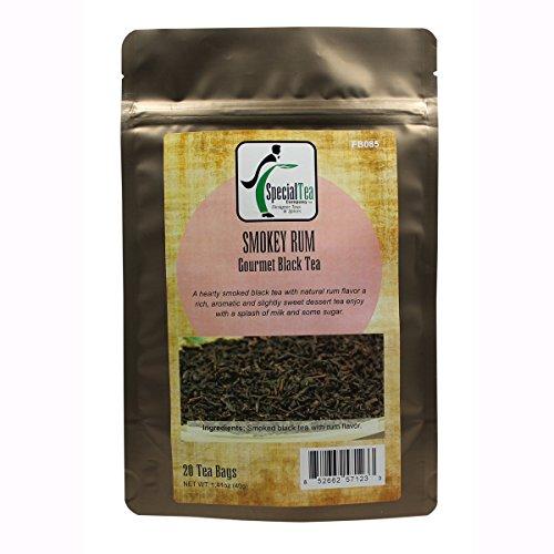 Special Tea Smokey Rum Black Tea, 20 Count