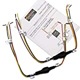 Solar Circuits LED Turn Signal Wiring Circuits - Converts 2-Wire LED to 3 for Running Light AND Turn Signals (pair)