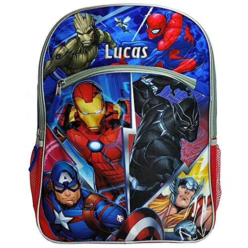 Personalized Licensed Avengers Character Backpack - 16 -