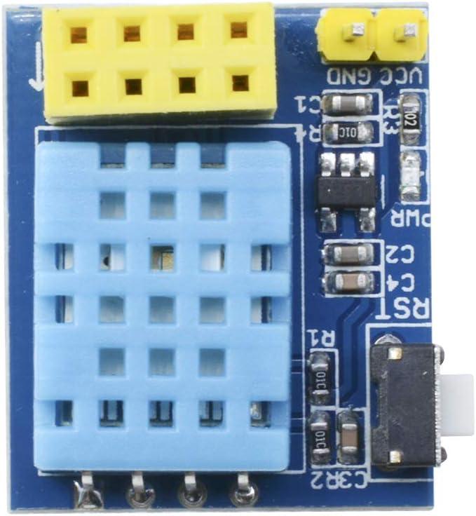 ESP8266/ESP-01/esp-01s DHT11/temperatura Sensor de humedad m/ódulo inal/ámbrico WiFi Nodemcu Smart Home IOT para Arduino DIY Kit