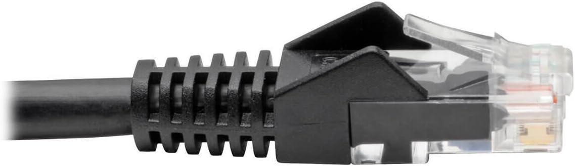 12-ft. - Blue Tripp Lite Cat6 Gigabit Snagless Molded Patch Cable RJ45 M//M N201-012-BL