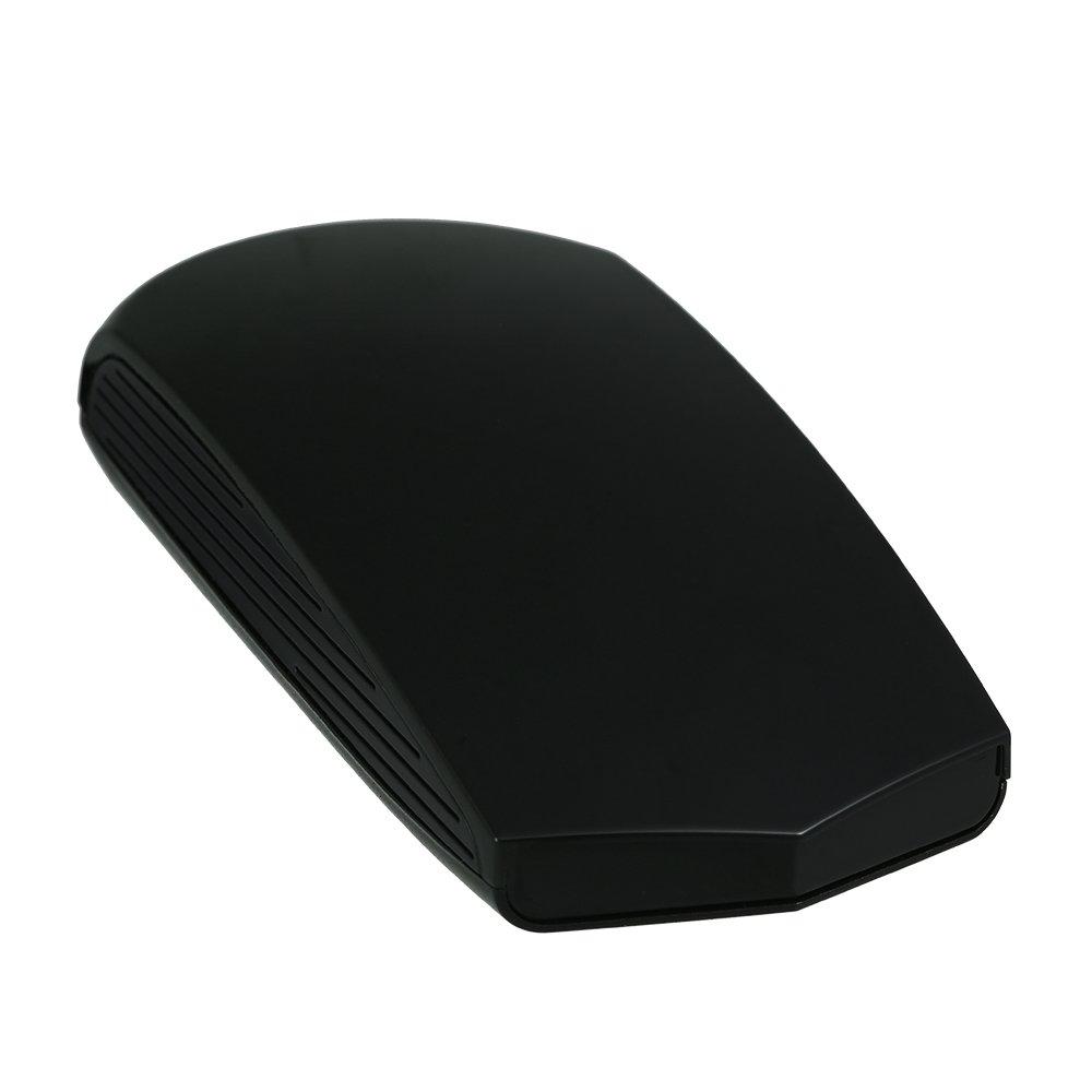 KKmoon Rilevatore di velocità del veicolo Rilevatore radar per veicoli a 12 V Velocità di banda completa Avviso di sicurezza Voce + Display LCD Russia/inglese