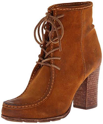 Frye Kvinners Parker Moc Kort Boot Cognac