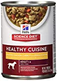 Hill'S Science Diet Adult Healthy Cuisine Wet Dog Food, Roasted Chicken Carrots & Spinach Stew Canned Dog Food, 12.5 Oz, 12 Pack For Sale