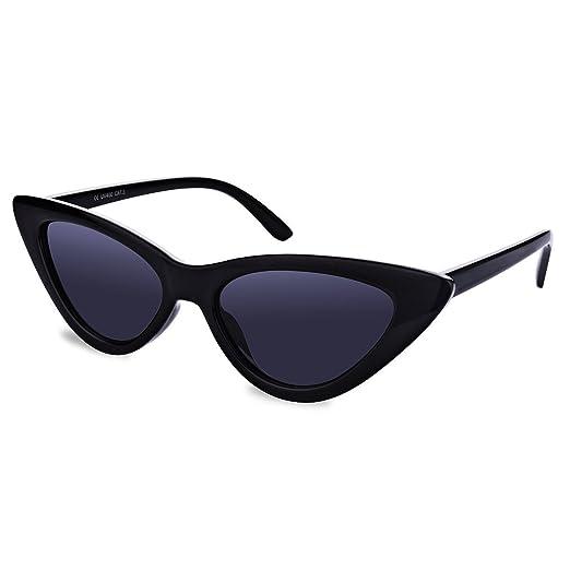 dc541e08e8 iGOOD Clout Goggles Cat Eye Sunglasses Vintage Mod Style Retro Kurt Cobain  Sunglasses for Women