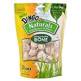 Dingo Naturals Mini Bone 21 PK, My Pet Supplies