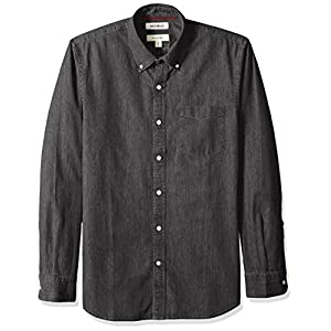 Amazon Brand – Goodthreads Men's Slim-Fit Long-Sleeve Denim Shirt