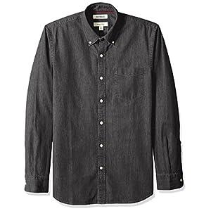 Goodthreads Men's Slim-Fit Long-Sleeve Denim Shirt