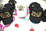 Future mrs, Cheers bitches bachelorette party hats, Bride Trucker Hat, Bride Tribe, Bridal shower, Snapback, Customizable lettering color