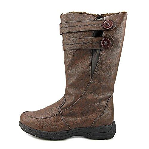 Wetterfeste Damen Tori Waterproof Winter Snow Boot Dunkelbraun