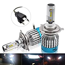 H11 H4 H7 LED Car Headlight Kit - Safego H8 H9 25W 1992Lm New High Quality LED Chips Conversion Kit 12V Replace for Car Halogen Lights or HID Bulbs