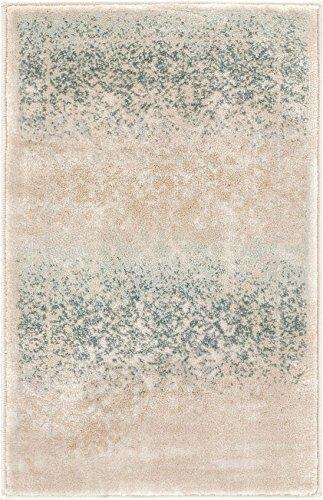Cheap Well Woven Celine Mint Blue Persian Vintage Medallion Area Rug 2×3 (20″x31″) Small Mat Modern Distressed Oriental Plush Super Soft Carpet