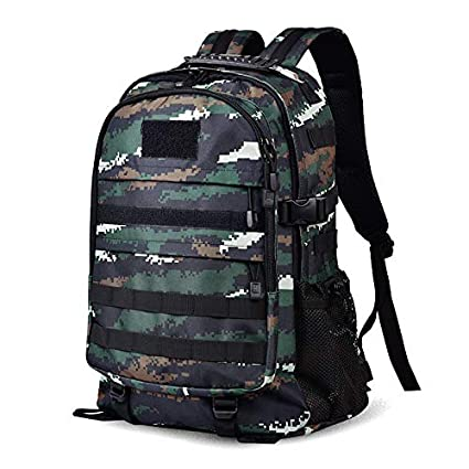 ZSBB Mochilas Mochila táctica de camuflaje al aire libre 07, mochila de fanático del ejército