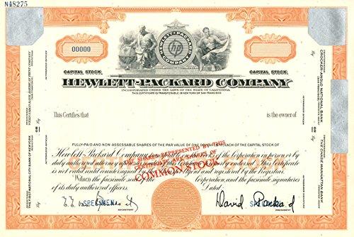 Hewlett-Packard Company