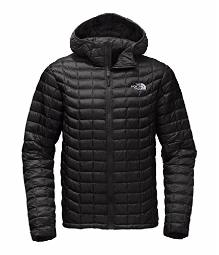 Mens North Face Denali Jacket - The North Face Men's Thermoball Hoodie - Black L (Past Season)