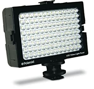 Polaroid Studio Series 112 LED Video Light Panel With Removeable Barn Doors For Camcorders, Digital Cameras & SLR's