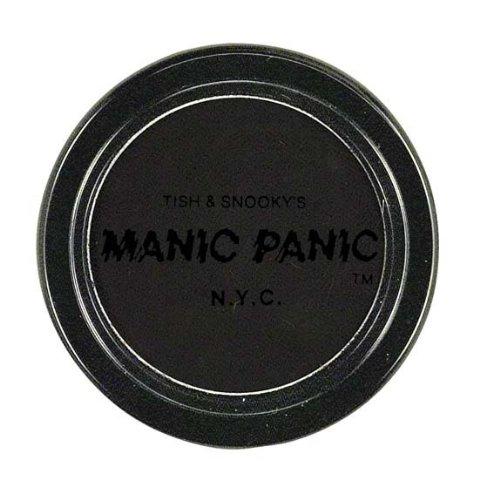 MANIC PANIC Pressed Powder Eye Shadow Matte RAVEN BLACK Goth Punk Vamp NEW ESH30006