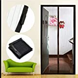 2016 House Protection Anti Bug Netting Mesh Screen Net Door with magnets Anti Mosquito Insect Curtain 210x110cm iG-0026