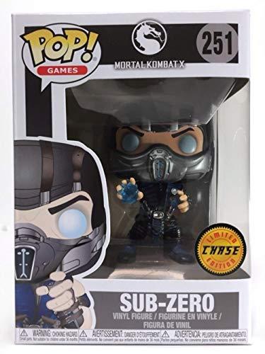 Funko POP! Mortal Kombat - Sub-Zero Chase Vinyl Figure #251