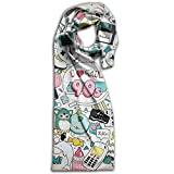 Doppyee I Love The 90s Super Soft Classic Cashmere Pashmina Feel Winter Scarf For Men And Women