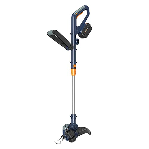 BLUE RIDGE BR8160U 40V 2.0Ah 12 Cordless Grass Trimmer String Trimmer Edger Battery and Charger Included