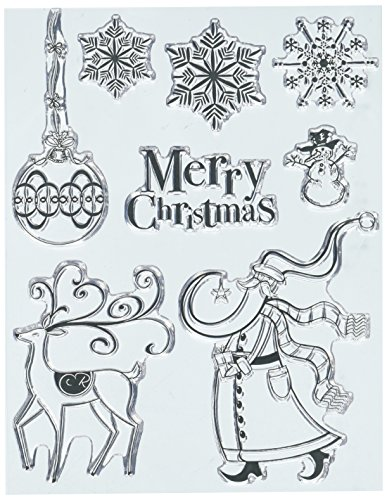 Penny Black Series Clear Stamp Set 30-437 North Pole Treasures - North Pole Rubber