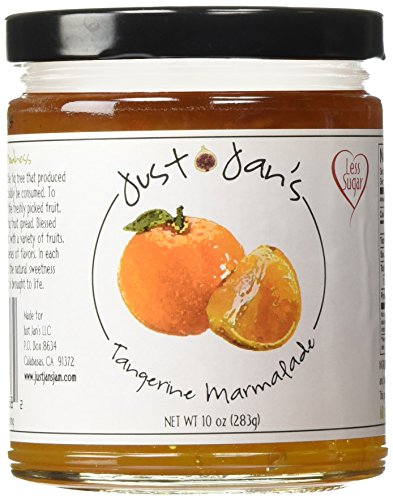 (Just Jan's Tangerine Marmalade All Natural 10)