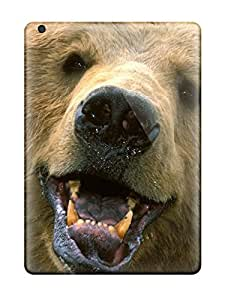 New Diy Design Grizzly Bears For Ipad Air Cases Comfortable For Lovers And Friends For Christmas Gifts 5254769K82638681