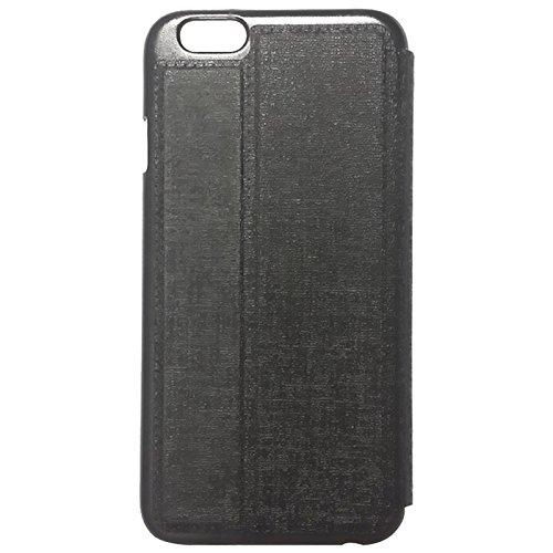 """iPhone 6S / 6 Kunst-Ledertasche / Kunst-Lederhülle / Kunst-Ledercase 4,7 in schwarz aus hochwertigem Kunst-Leder im """"Oracle-Style"""" -ORIGINAL nur von THESMARTGUARD-"""