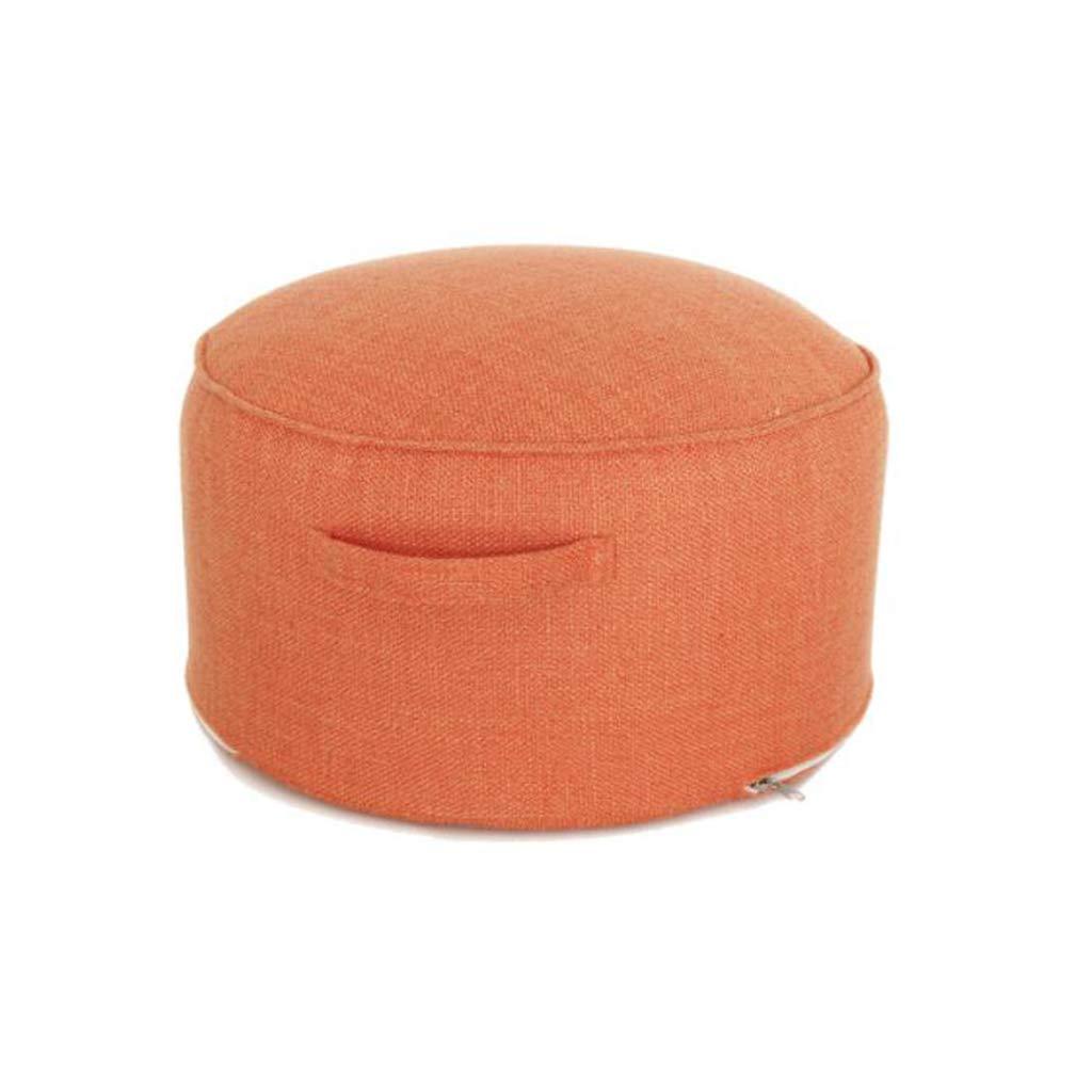 DLDL Simple con Mango extraíble y Lavable sofá de Tela Sentado (Color : Orange)