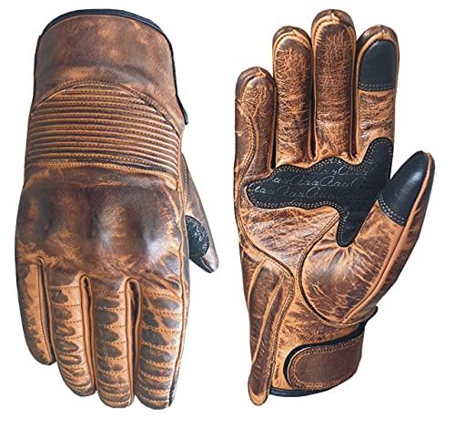 aaaSports Rindsleder Motorradhandschuhe Motorrad Sommer Handschuhe Herren Damen Motorbike Gloves Touchscreen Handschuhe…