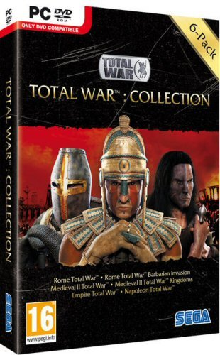 Total War Collection (Rome Gold / Medieval 2 Gold / Napoleon / Empire Total War)