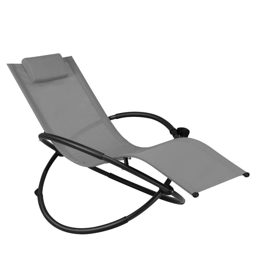 Amazon.com: Modern Zero Gravity Folding Lounge Chair ...