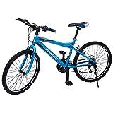 Benotto Bicicleta Progression MTB Acero R24 21V Hombre Sunrace Frenos V