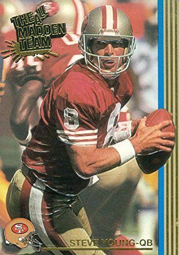Image Unavailable. Image not available for. Color  Steve Young football  card (San Francisco 49ers Super Bowl Champion) 1993 ... b02388c8c