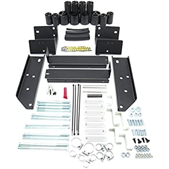 6 Lugs Made in America Performance Accessories fits 2003 to 2004 PA5593 Toyota Tacoma 4WD Std//Ext//Crew Cab Including 2WD TRD//Prerunner 3 Body Lift Kit