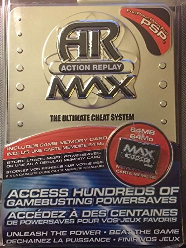 AR Action Replay MAX - Sony PSP by Intec