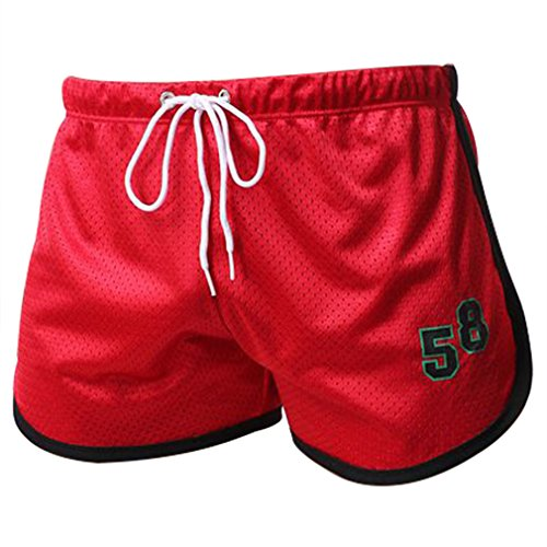 Running Shorts, ADiPROD Men Sexy Sport Bodybuilding Fitness GYM Summer Casual Short Pants (Large, (Mens Clothes From The 80s)