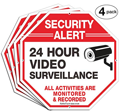 Surveillance Activities Monitored Reflective CCTV product image