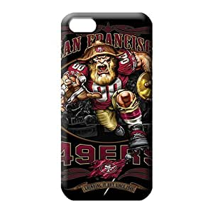 MMZ DIY PHONE CASEiphone 6 plus 5.5 inch Excellent Fitted forever Durable phone Cases cell phone carrying covers san francisco 49ers nfl football