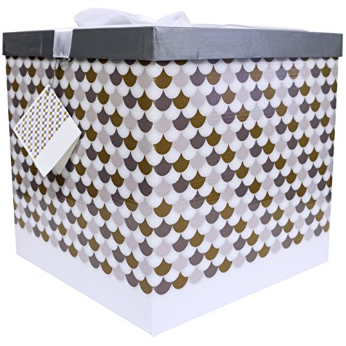 EndlessArtUS Sienna EZ Gift Box, Easy to Assemble and No Glue Required