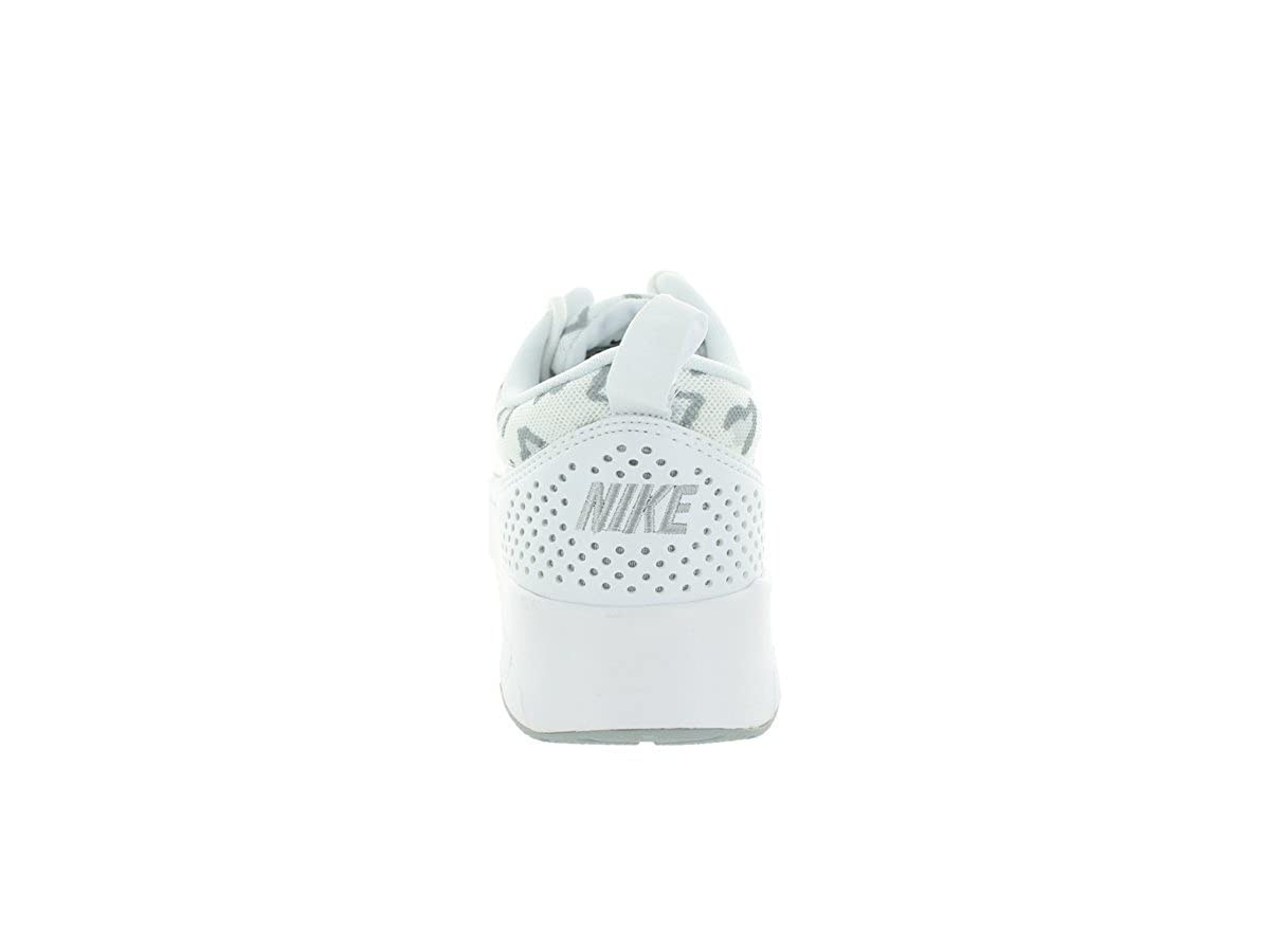 NIKE WMNS Max Air Max WMNS Thea Print Damen Sneaker Weiß/Wolf Grau-pure Platinum 561435