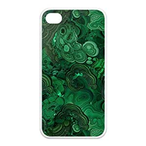 Treasure Design Funny Malachite APPLE IPHONE 4or4s Best Silicone Case