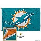 Miami Dolphins Embroidered Nylon Flag