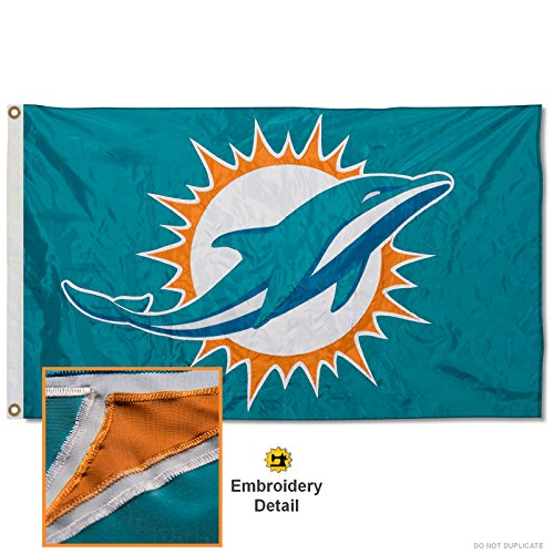 (Wincraft Miami Dolphins Embroidered Nylon)